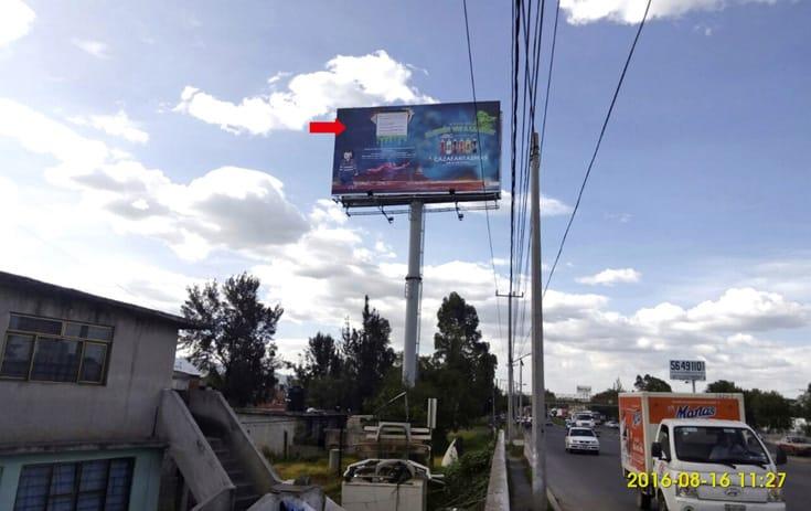 Espectacular MEX003S1 en Jardines de La Hacienda, Cuautitlán Izcalli de One Marketing