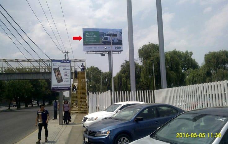 Espectacular MEX004S1 en Fracc. La Capilla, Cuautitlán Izcalli de One Marketing