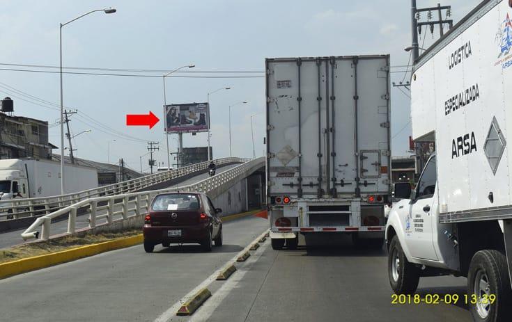 Espectacular MEX011O1 en Tultitlán, Estado de México de One Marketing