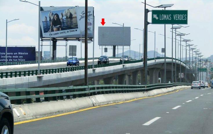 Espectacular MEX018S1 en Naucalpan de Juárez, Estado de México de One Marketing