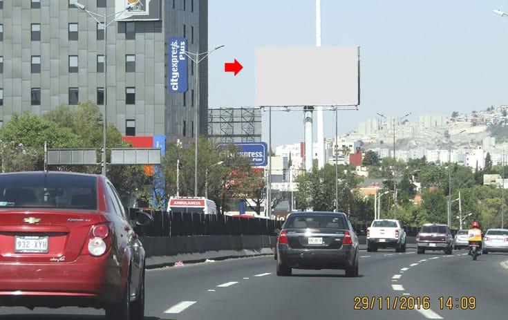 Espectacular MEX023S1 en Naucalpan de Juárez, Estado de México de One Marketing