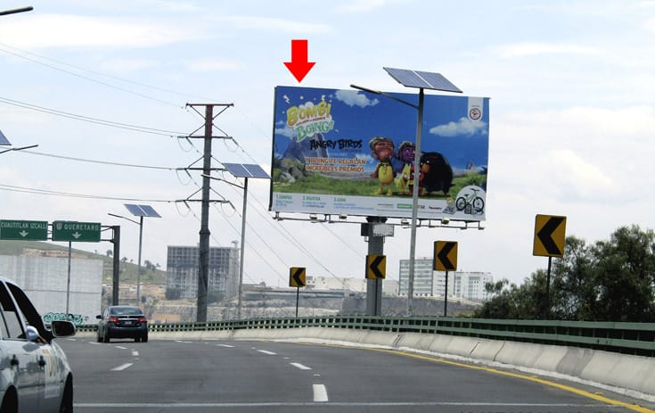 Espectacular MEX070S1 en Cuautitlán Izcalli, Estado de México de One Marketing