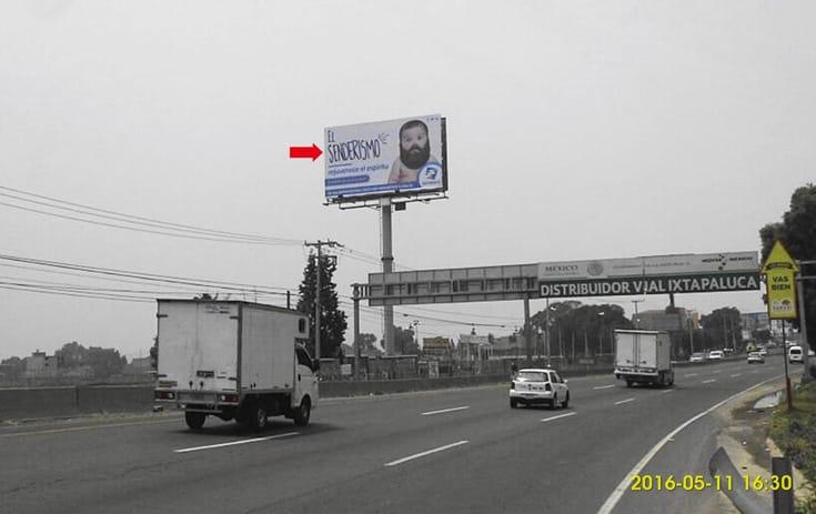 Espectacular MEX100N1 en Chalco, Estado de México de One Marketing