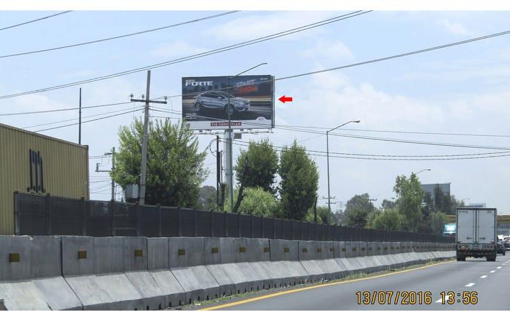 Espectacular MEX110S1 en Cuautitlán Izcalli, Estado de México de One Marketing