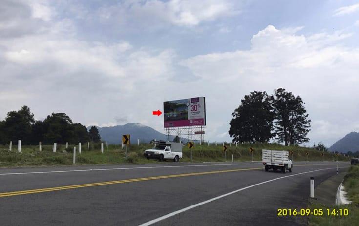 Espectacular MEX137O1 en Aut. Toluca Valle de Bravo Km. 43+950, San Bartolo Amanalco, Valle de Bravo de One Marketing