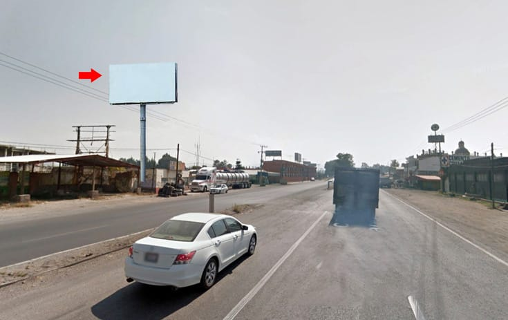Espectacular MEX152N1 en Texcoco, Estado de México de One Marketing