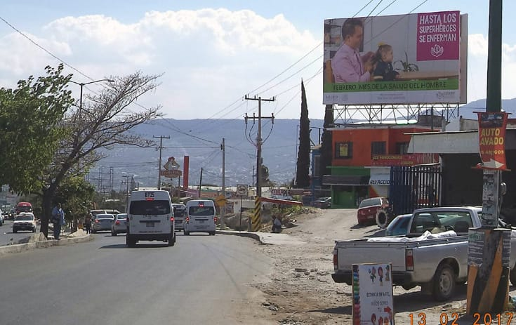 Espectacular MSCHS004N1 en Calz. del Sumidero #2295, Albania Baja, Tuxtla Gutiérrez de One Marketing