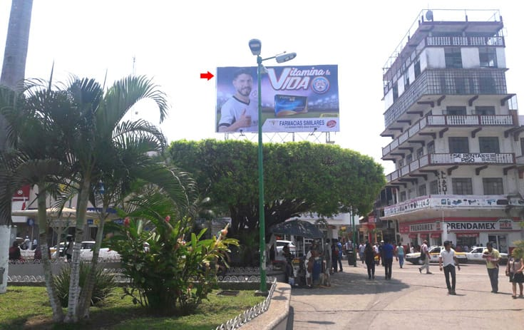 Espectacular MSCHS006O1 en 6A. Av. Norte #33 Entre 3A y 5A Poniente, Centro, Tapachula de One Marketing