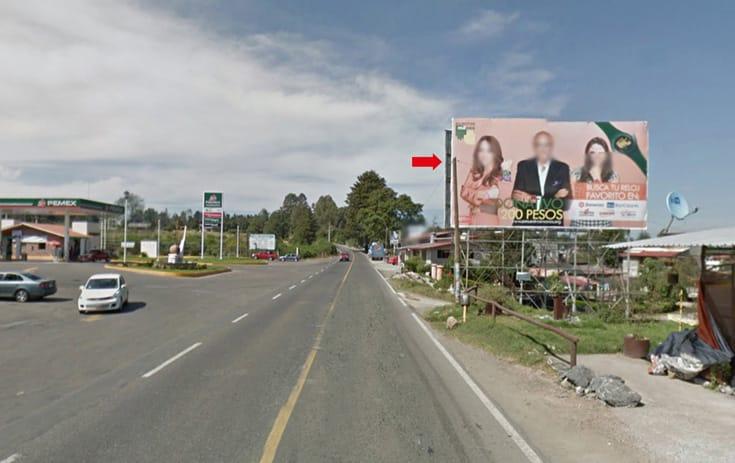 Espectacular MSMEX010N1 en Carr. Valle de Bravo Km. 66.6 Paraje El Fresno, San Bartolo Amanalco, Valle de Bravo de One Marketing