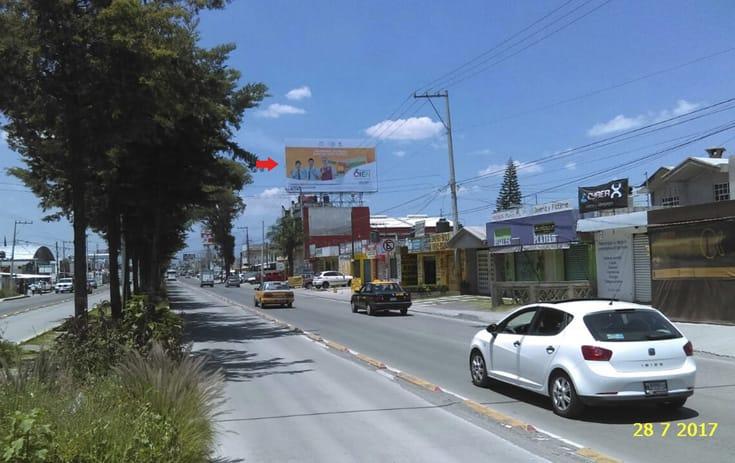 Espectacular MSPUE003P1 en Prolongación 11 Sur #12962, Bellavista, Puebla de One Marketing