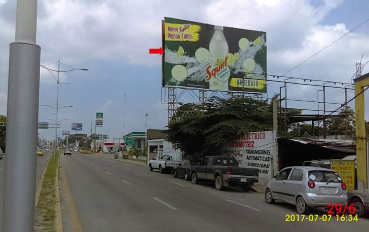 Espectacular MSTAB002N1 en Prol. Av. Universidad #427 V-Nte.Natural, Recreo, Villahermosa de One Marketing
