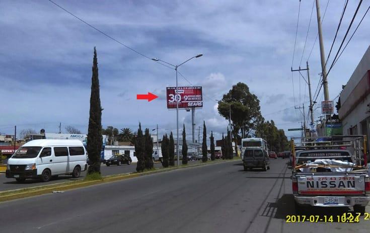 Espectacular PUE018N1 en San Baltazar Campeche, Puebla, Puebla de One Marketing
