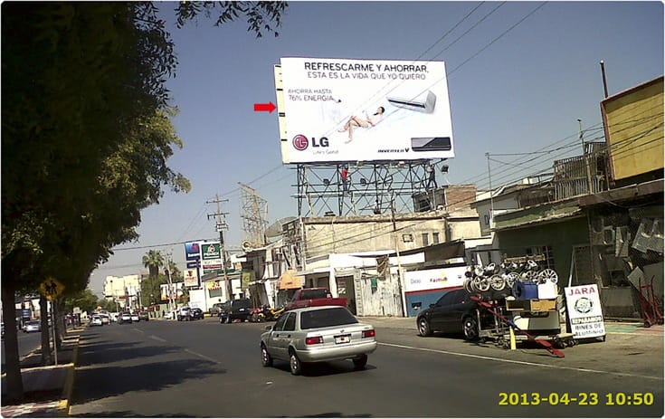 Espectacular SIN-436 en Col. Centro, Culiacan de One Marketing
