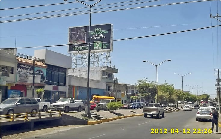 Espectacular SIN-439 en Col. Centro, Culiacan de One Marketing