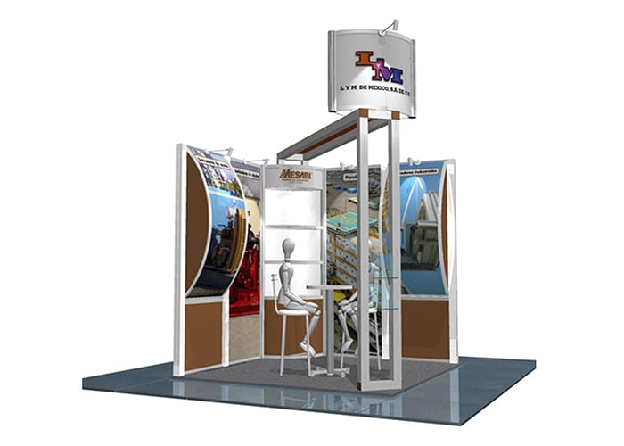 Stands Para Expo : Adquiera su stand en one marketing custom y octanorm