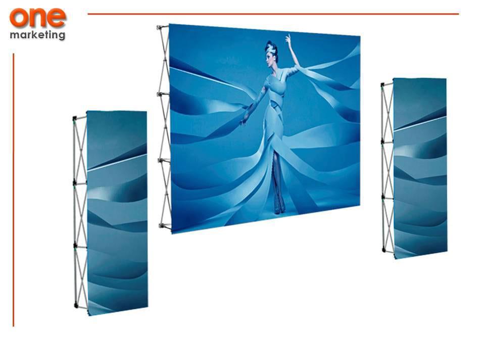 Paquete Expo 2 de Aluminio de Promociones One Marketing