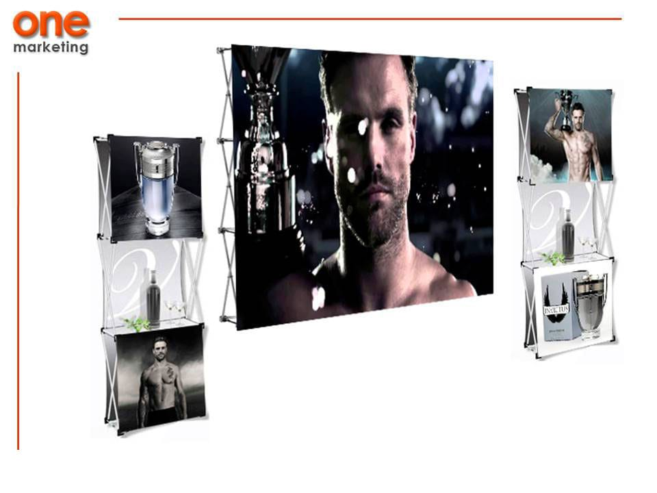 Paquete Expo 3 de Aluminio de Promociones One Marketing