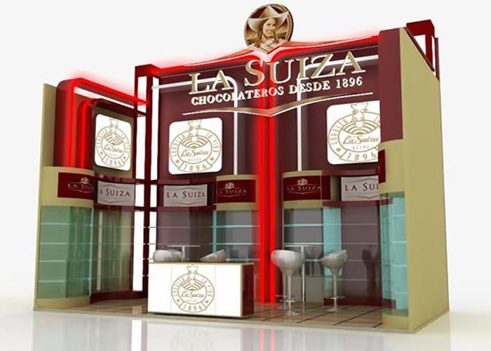 Stand Custom con exhibidores de One Marketing Expo Stands y Displays