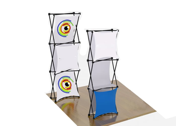 Display Araña Torre  código OM-DP de One Marketing Expo Stands y Displays