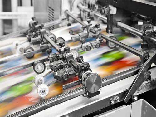 Impresión en Offset es uno de los procesos de Imprenta en One Marketing