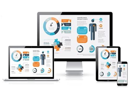 Páginas Web es uno de los servicios Web en One Marketing
