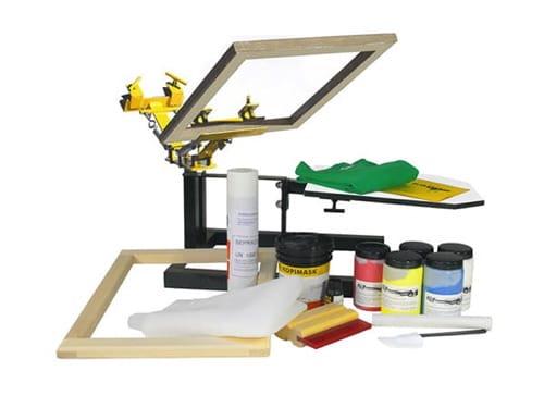 Impresión en Serigrafía es uno de los procesos de Imprenta en One Marketing