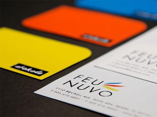 Tarjetas de Presentación son uno de los productos de Imprenta en One Marketing